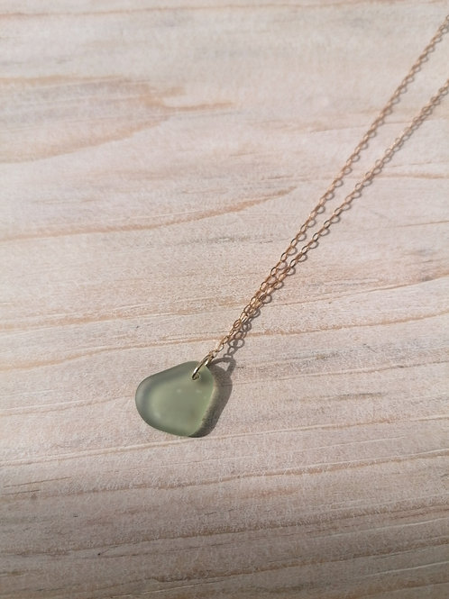 Skopelos Collection - Olive Green Necklace