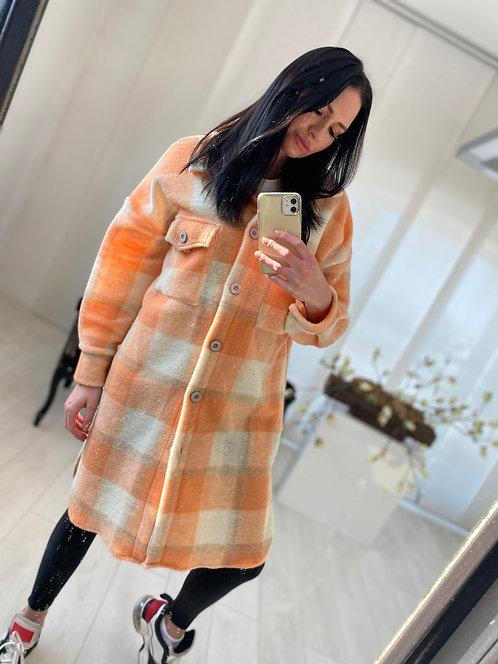 Płaszcz Calea 2 Orange Check