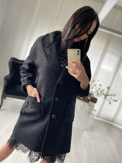 Płaszcz Galaxy Black