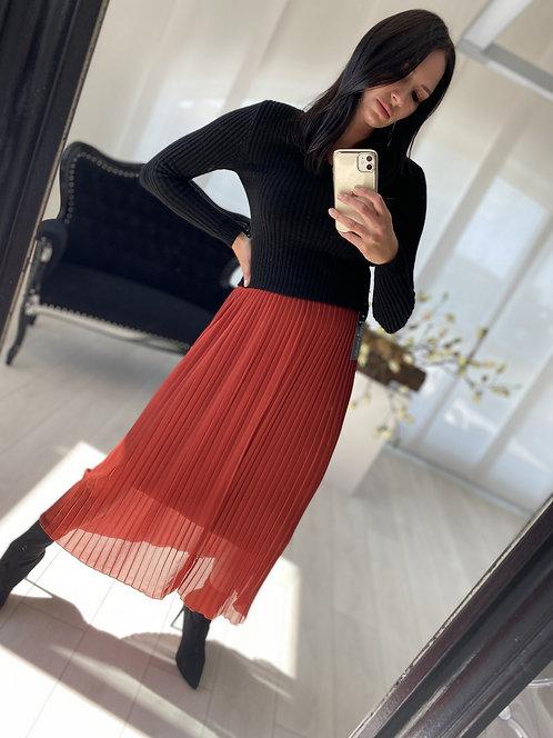Spódnica Izelda Brick Red