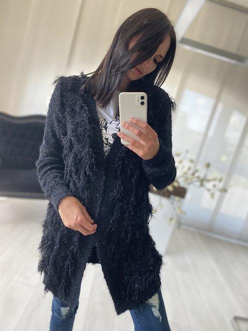 Sweter Kardigan Koreli Black