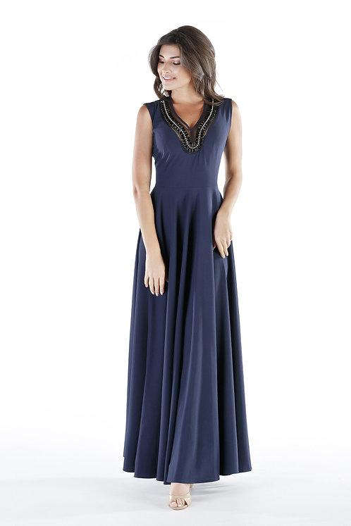 Sukienka Sonia Navy Blue PREMIUM