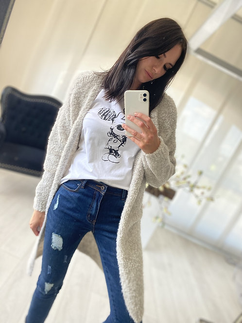 Sweter Kardigan Ramoni Beige