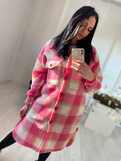 Płaszcz Calea 2 Pink Check