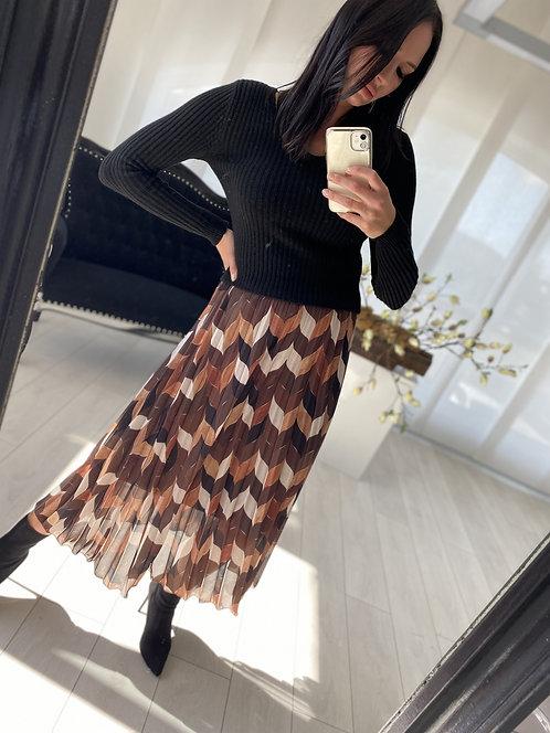 Spódnica Liren Brown