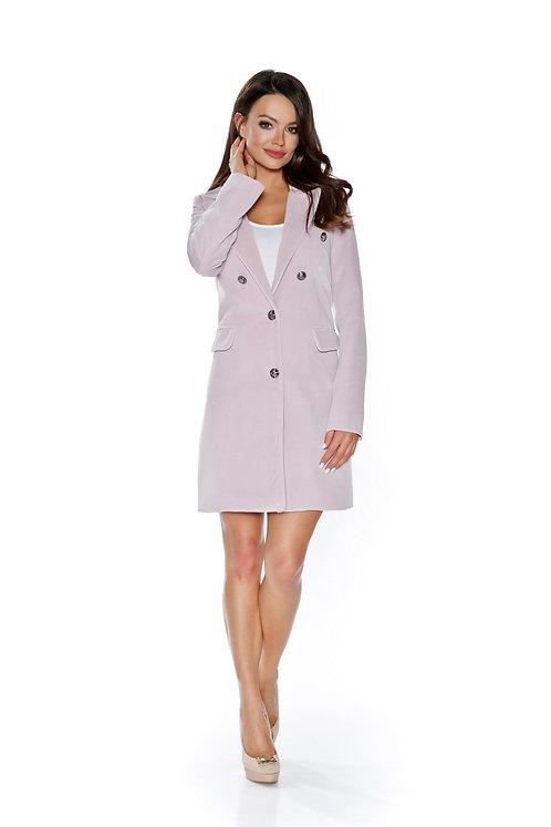 Płaszcz Nina Light Pink Velours PREMIUM