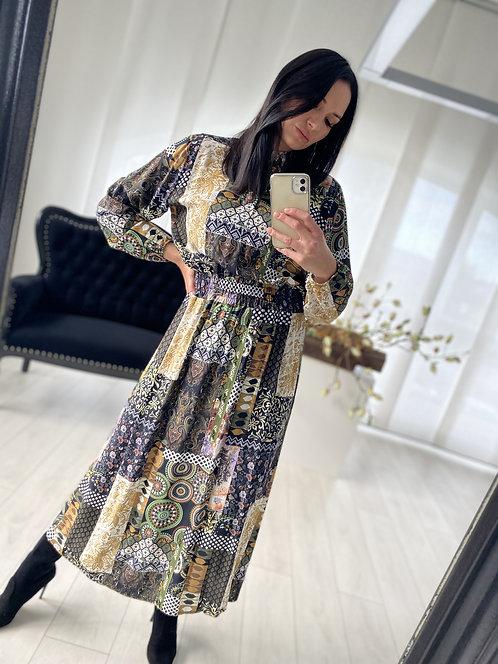 Sukienka Kamelia  Multicolor