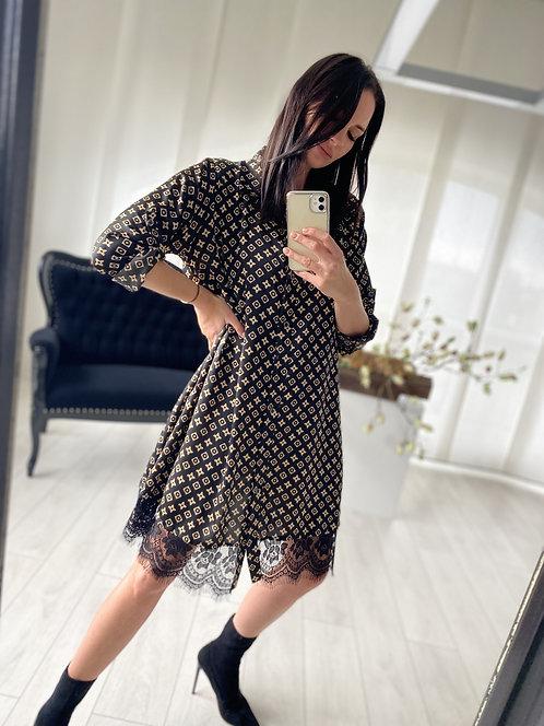 Sukienka Melody Black Lui