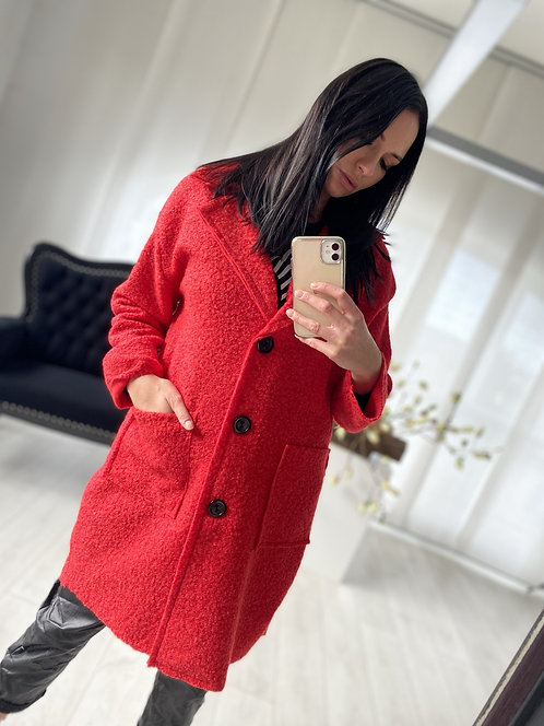 Płaszcz Galaxy Red