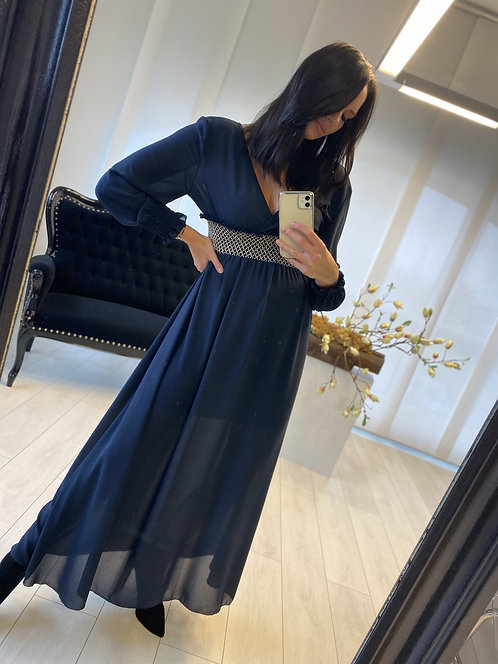 Sukienka Lorita 2 Navy Blue