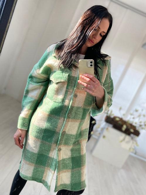 Płaszcz Calea 2 Green Check