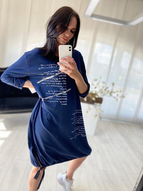 Sukienka Simoni Navy Blue