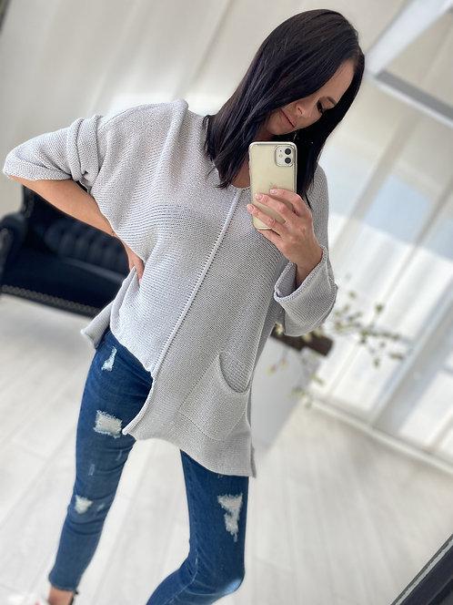 Sweter Felicity Grey