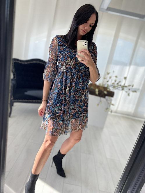 Sukienka Loremi Blue Flowers