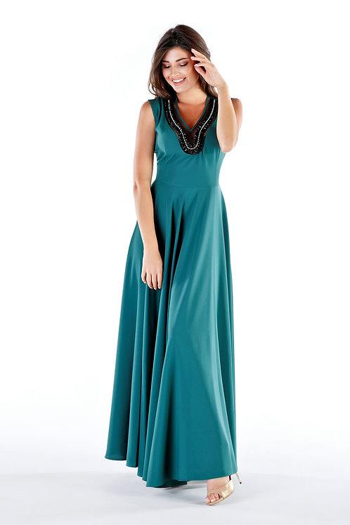 Sukienka Sonia Dark Green PREMIUM