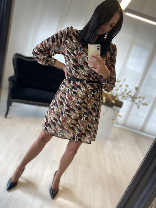 Sukienka Lusita Biege