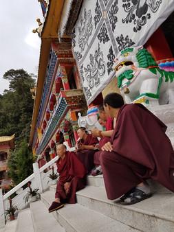 Monastery life