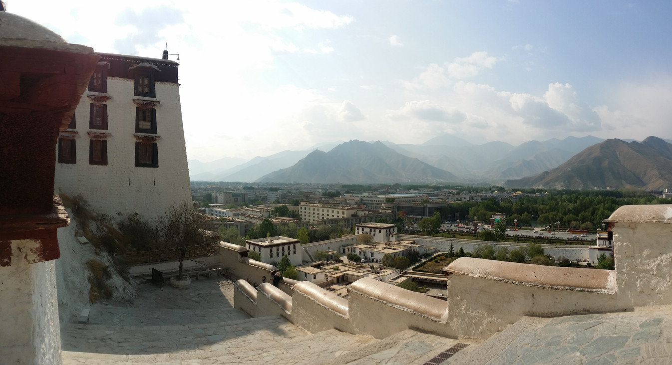 View from Potala Palace