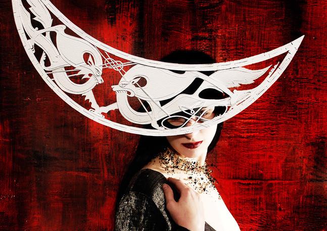 Tarot of Masks: The Moon
