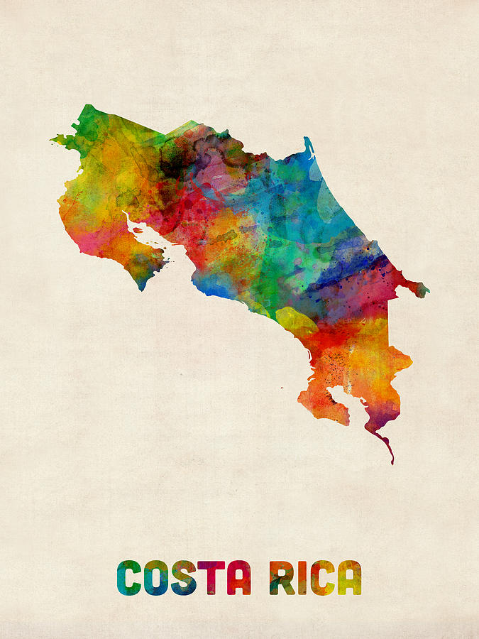 costa-rica-watercolor-map-michael-tompsett