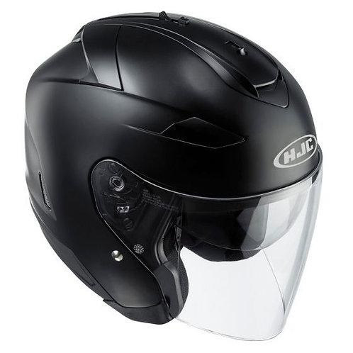 HJC IS-33 ii Openface Helmets Matt Black