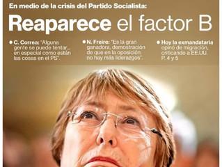 El resurgimiento de Bachelet como plan de emergencia para la centroizquierda