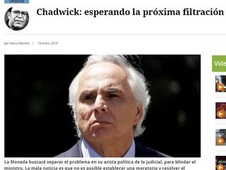 El Mostrador | Chadwick: esperando la próxima filtración