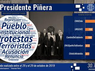 Ciudadanos chilenos y sus expectativas frente al cambio de gabinete en el gobierno del Presidente Pi