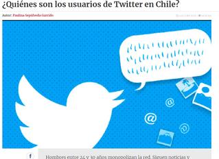 La tercera | ¿Quiénes son los usuarios de Twitter en Chile?