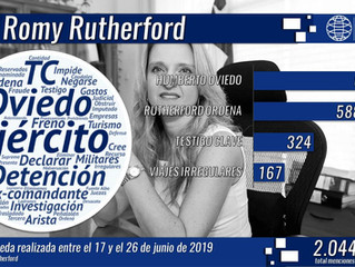 Irregularidades en el Ejército: ministra Rutherford dictaminó la detención del general Humberto Ovie