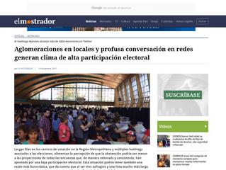 El Mostrador I Aglomeraciones en locales y profusa conversación en redes generan clima de alta parti