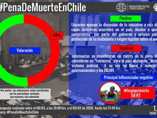 Pena de muerte en Chile genera debate en redes sociales