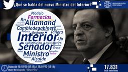 Nuevo ministro del interior: Conoce las reacciones en redes sociales