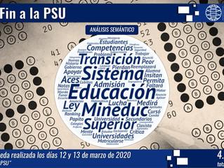 Fin a la PSU da inicio a la prueba de transición