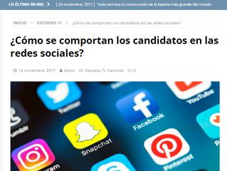 Mundo en Línea I ¿Cómo se comportan los candidatos en las redes sociales?