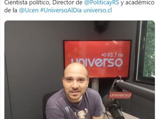 Radio Universo I Sebastián Piñera, Gabriel Boric y Michelle Bachelet, los personajes favoritos del a
