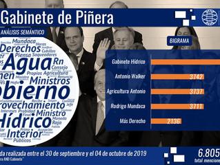 Crisis hídrica marca el último consejo de Gabinete: Ministro Antonio Walker lideró las menciones