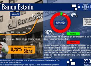 Banco Estado: Ataque cibernético generó alta desaprobación en rr.ss