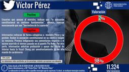 Ministro Pérez: negativa valoración en RRSS sobre acusación constitucional