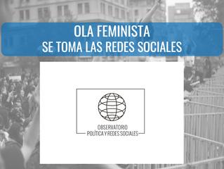 """Nuevo estudio: """"Ola Feminista se toma las Redes Sociales"""""""