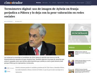 El Mostrador I #TermómetroDigital: uso de imagen de Aylwin en franja perjudica a Piñera y lo deja co