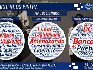 """El Presidente Piñera hace llamado a generar """"acuerdos"""" en ultima cadena nacional"""
