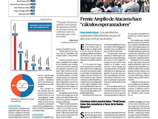 "Diario de Atacama I ""Observatorio realizó ranking de candidatos más seguidos"""