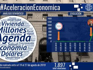 Gobierno y la nueva agenda de aceleración económica