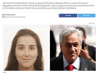 Publimetro | La otra Bachelet que complicó a Piñera: especialistas analizan los errores comunicacion