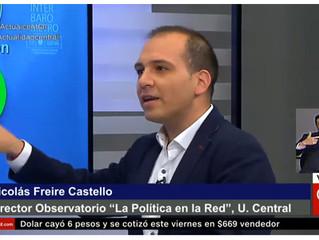 CNN CHILE I Observatorio Política y Redes Sociales presentó su último informe de valoración en CNN C