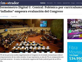 """El Mostrador I Termómetro Digital U. Central: Polémica por currículums """"inflados"""" empeora evaluación"""