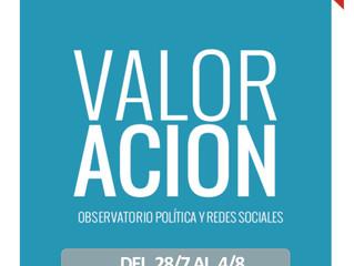 Ya está disponible el Informe de Valoración #10 Semana 28 Julio al 4 de Agosto