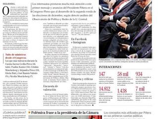 El Mercurio I Cuenta Pública generó más interacciones en Twitter que la última elección presidencial