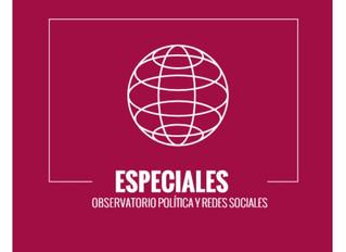 Alta expectativa en redes sociales: Interacciones con las cuentas de los presidenciables supera por